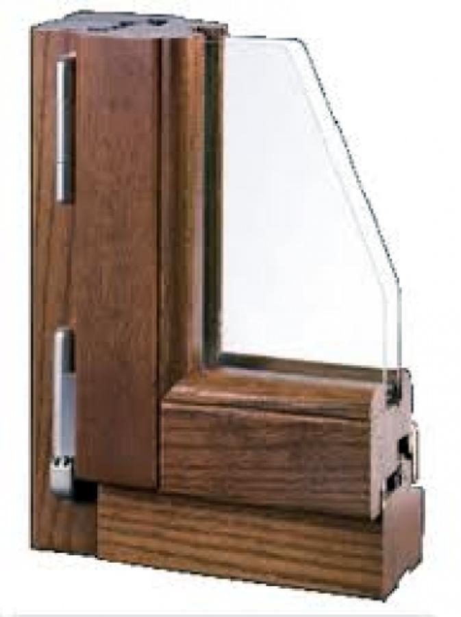 Foto serramenti in legno di casa 135096 - Foto finestre in legno ...