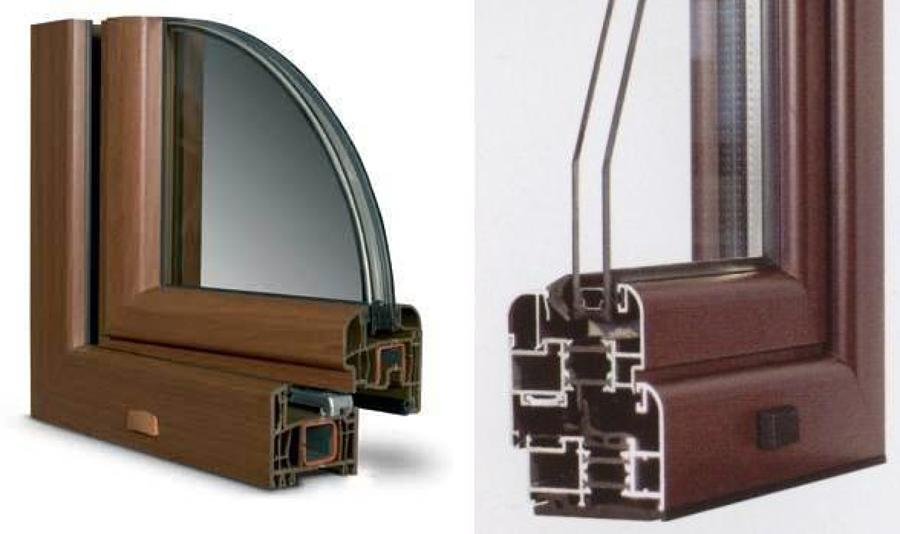 Foto serramenti taglio termico pvc alluminio legno - Controfinestre in alluminio prezzi ...
