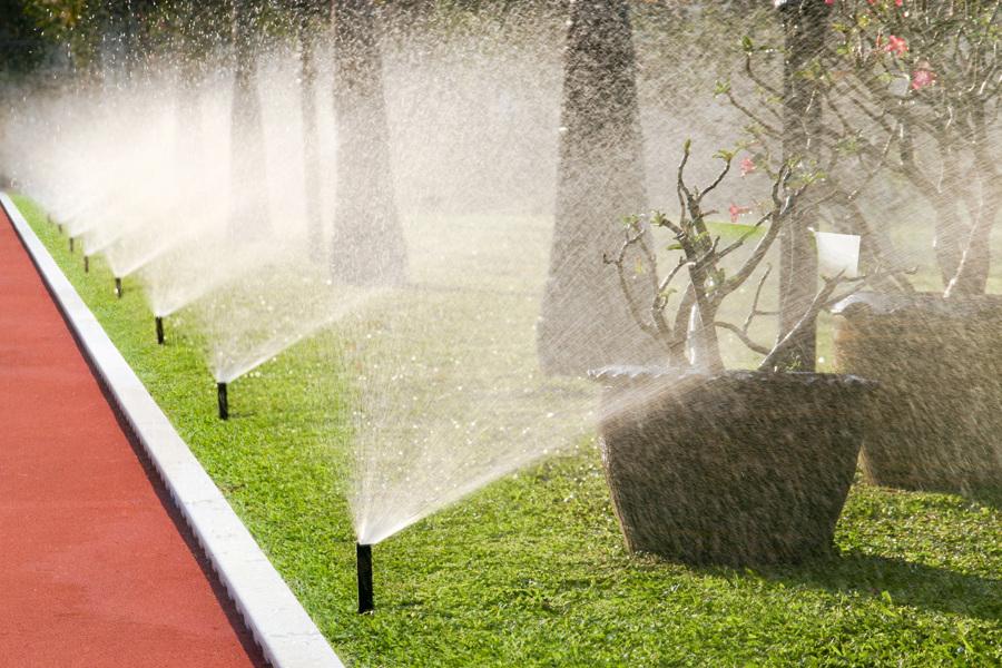Sistemi di irrigazione di giardini