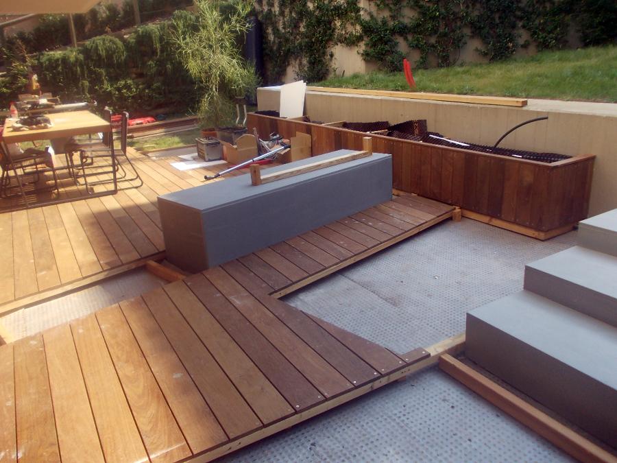 foto sistemazione esterna giardino privato de impresa