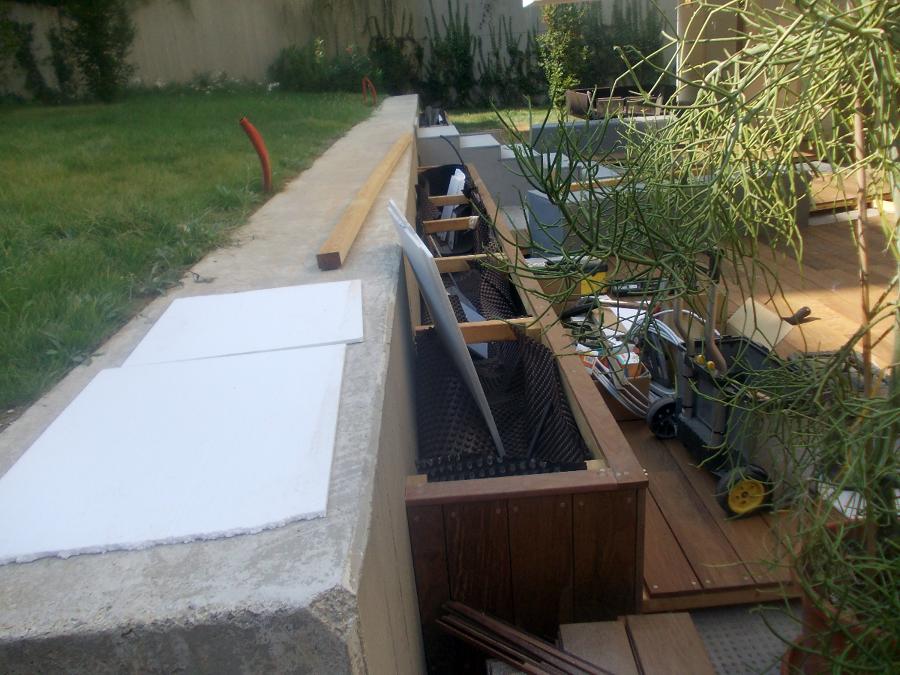 sistemazione esterna giardino privato