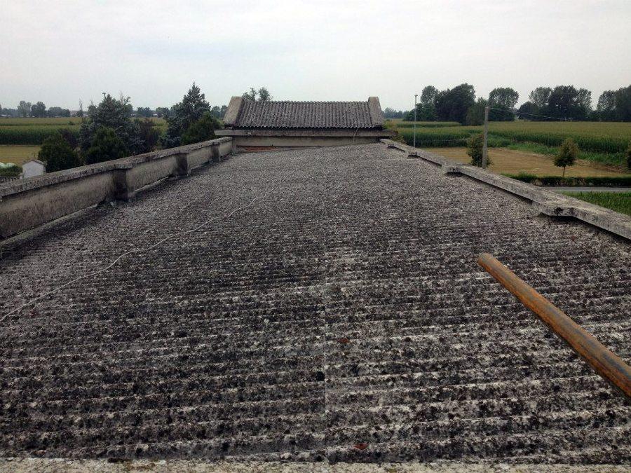 smaltimento amianto e nuova impermeabilizzazione