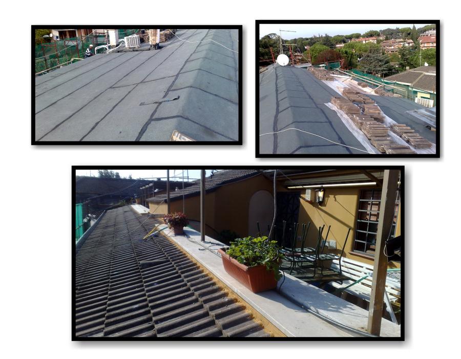 Foto smantellamento e impermealizzazione tetto de for Stili tetto tetto