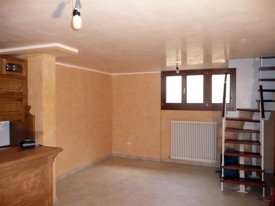 Foto soffitto in grassello di calce bianco di nddecor for Grassello di calce spatolato