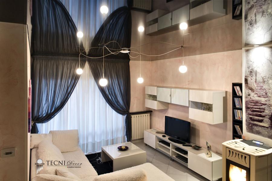 Foto: Soffitto Teso Laccato Nero di Tecni Decor Soffitti #138755 - Habitissimo