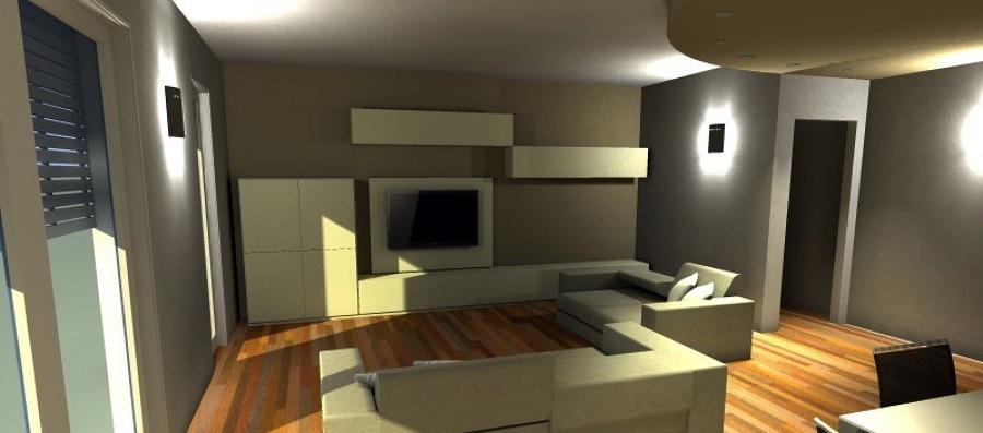 Foto soggiorno 3d foto1 de arredare oggi interior for Arredare in 3d