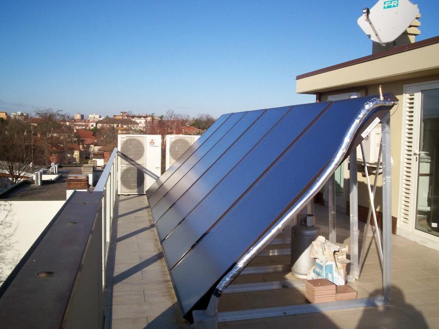 solare termico  e vrf