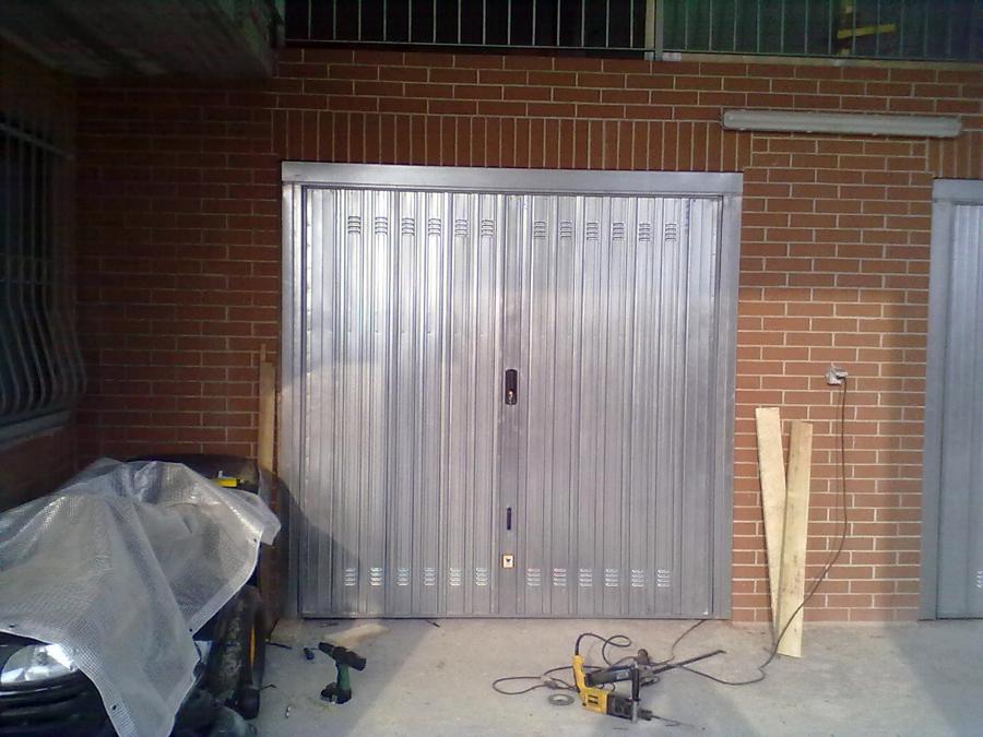 sostituzione basculante garage