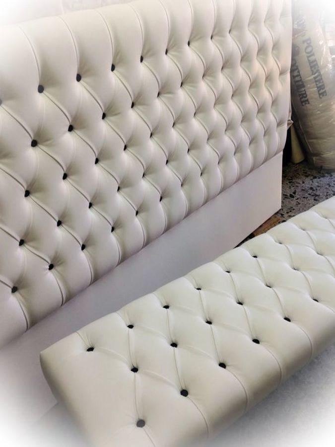 Foto spalliera letto di l 39 atelier artistico s n c 136246 habitissimo - Cuscini spalliera letto ...