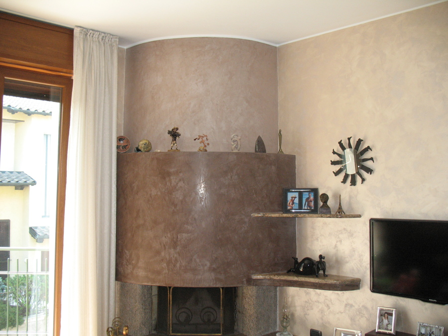 Foto spatula stucchi e pareti sabbiate di edicolor - Stucchi decorativi per pareti ...
