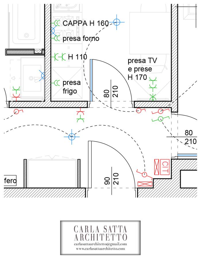 Foto progetto impianto elettrico di carla satta for Progettazione impianto elettrico casa