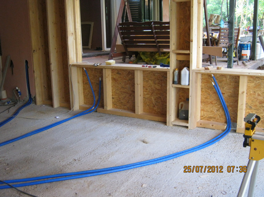 Foto struttura in legno ampliamento piano casa via - Como hacer una casa prefabricada ...