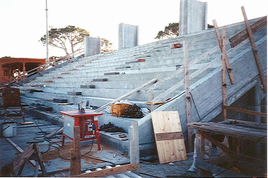 struttura per costruzione in cemento armato