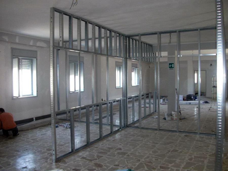 Foto: Struttura Per Realizzazzione di 4 Stanze In Cartongesso. di Giuseppe Sp...