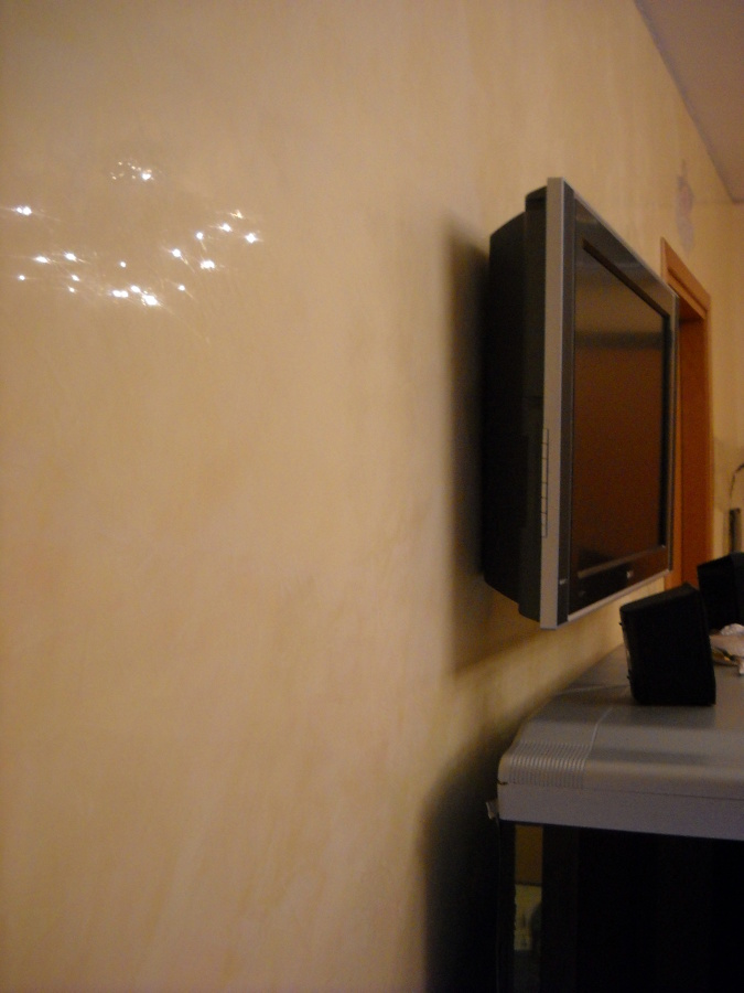 Foto stucco in calce di grassello de masterpaint 46906 for Grassello di calce spatolato