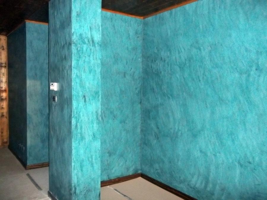 Foto stucco veneziano di decorazioni chiarenza marco for Stucco veneziano immagini