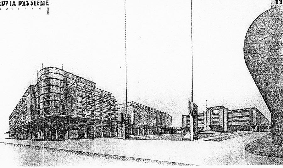 studio dell'assetto urbanistico moderno