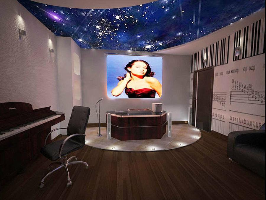 Foto studio hi tech di registrazione sonora e video di style house ristrutturazioni 74308 - Studio di registrazione in casa ...