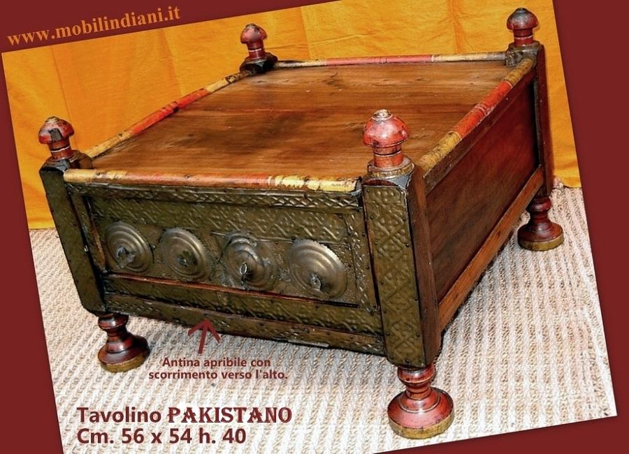 Foto tavolino etnico pakistano de mobili etnici 61526 for Negozi arredamento etnico milano