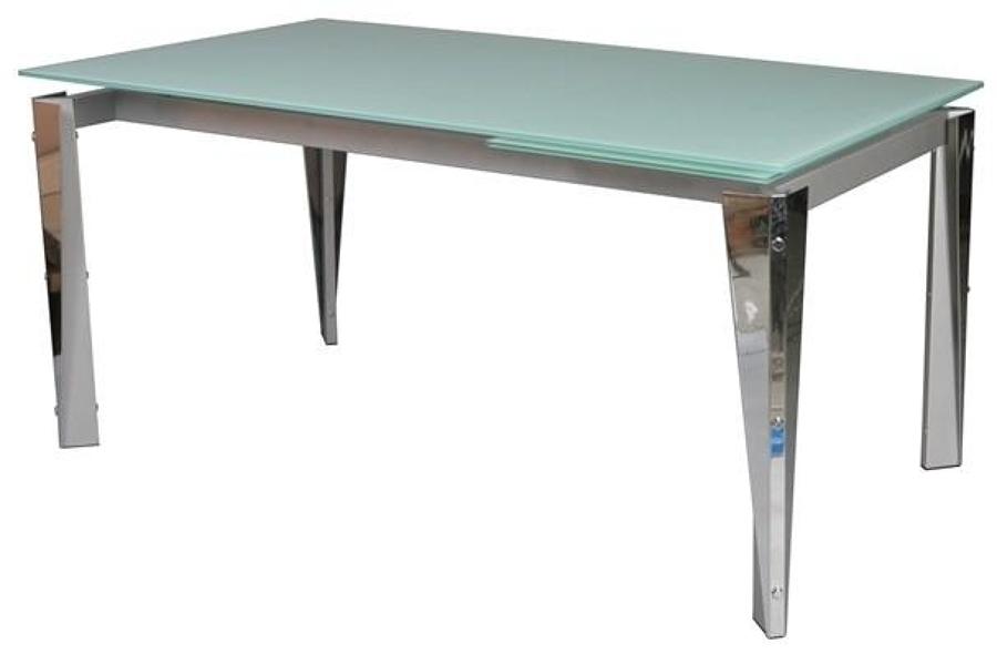 Foto tavolo acciaio e vetro zamagna di punto arredo - Tavolo acciaio e vetro ...