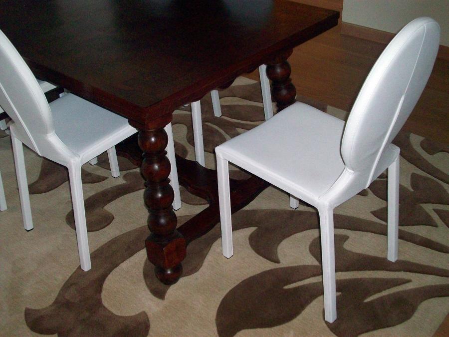 foto tavolo antico sedie moderne di life design 79257