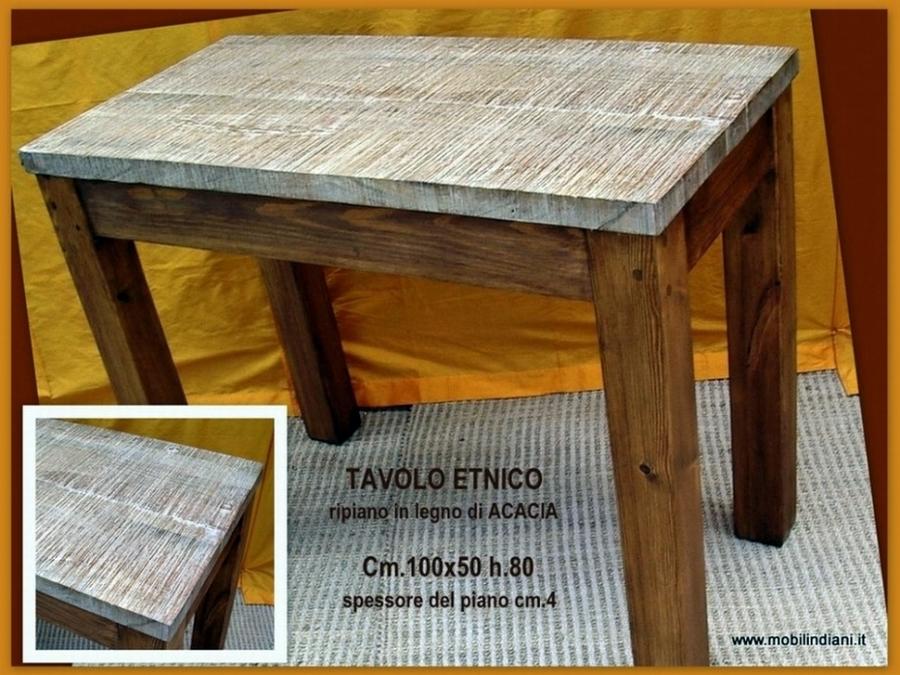 Foto tavolo da pranzo etnico de mobili etnici 61516 for Mobili etnici roma