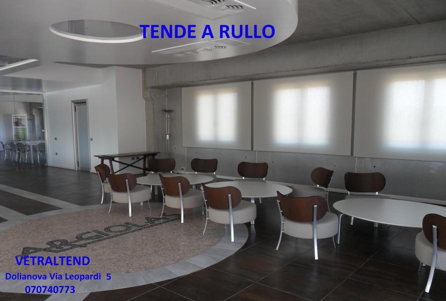 Foto tende a rullo per interni di vetraltend 167035 - Tende interni prato ...