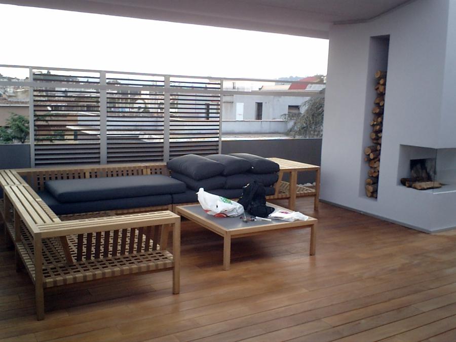 Foto terrazza arredata di impresa edile geom gianfranco for Terrazza arredata