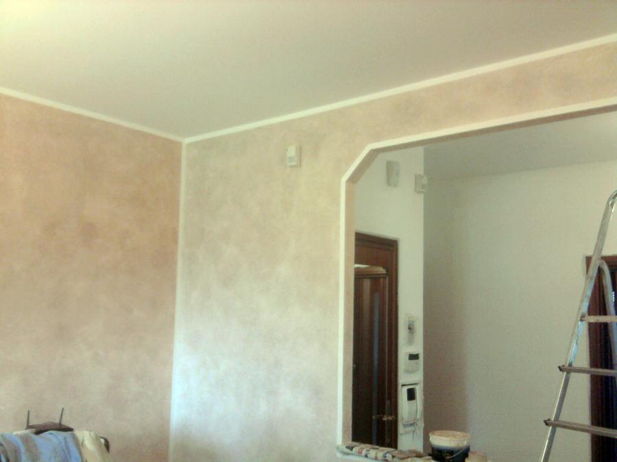 Foto terre fiorentine di msc decorazioni 128987 for Pareti avorio perlato