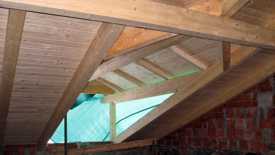 foto tetto in legno lamellare de restructura edilgeneral