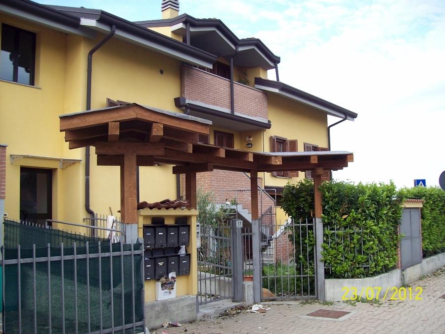 Foto tettoia per ingresso di bitasrl1981 119887 habitissimo - Tettoia per porta ingresso ...