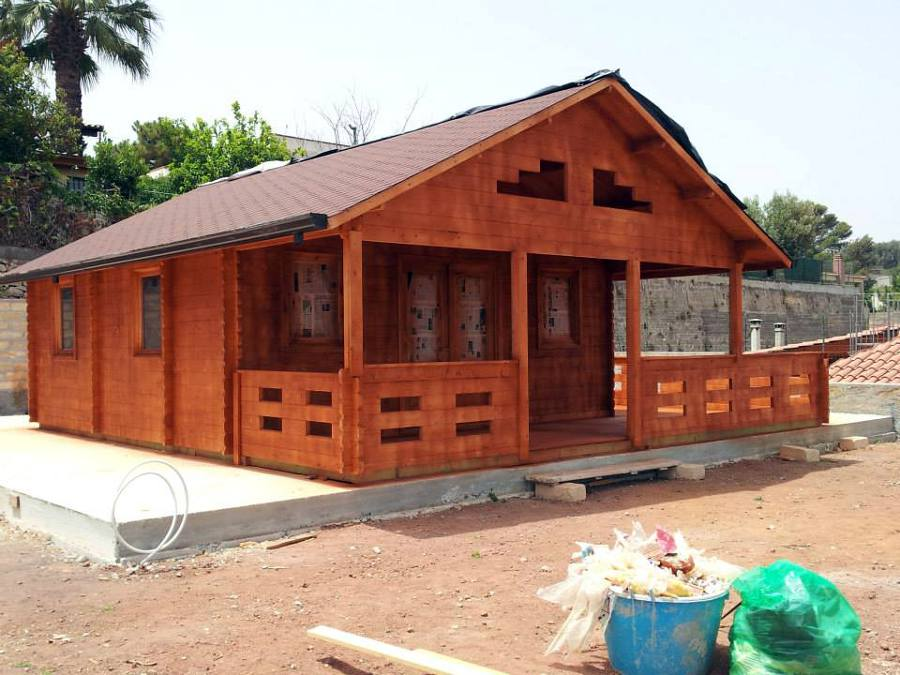 Foto tinteggiatura casa in legno di giuseppe spada - Tinteggiatura casa ...