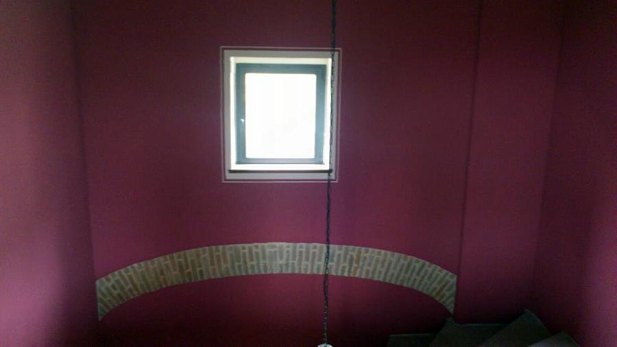 tinteggiatura con cornice finestra