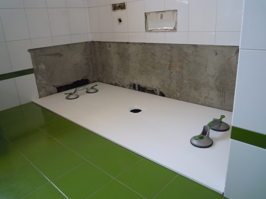 Foto trasformazione vasca da bagno in doccia di speedy - Vasca doccia da bagno ...