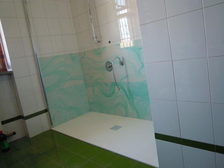 Foto trasformazione vasca da bagno in doccia di speedy - Pareti doccia in resina ...