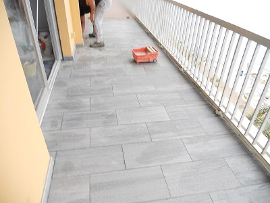 Foto rifacimento terrazzo alla fine dei lavori di for Lavori alla camera