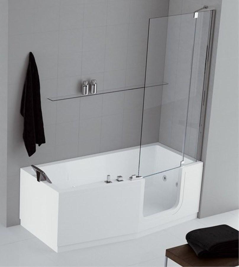 Foto vasca con sportello e doccia di sovabad italia s r l - Da vasca da bagno a doccia ...