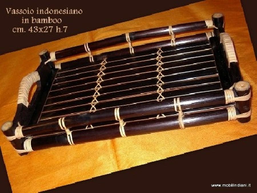 Foto vassoio etnico in bamboo di mobili etnici 41057 habitissimo - Mobili in bamboo ...