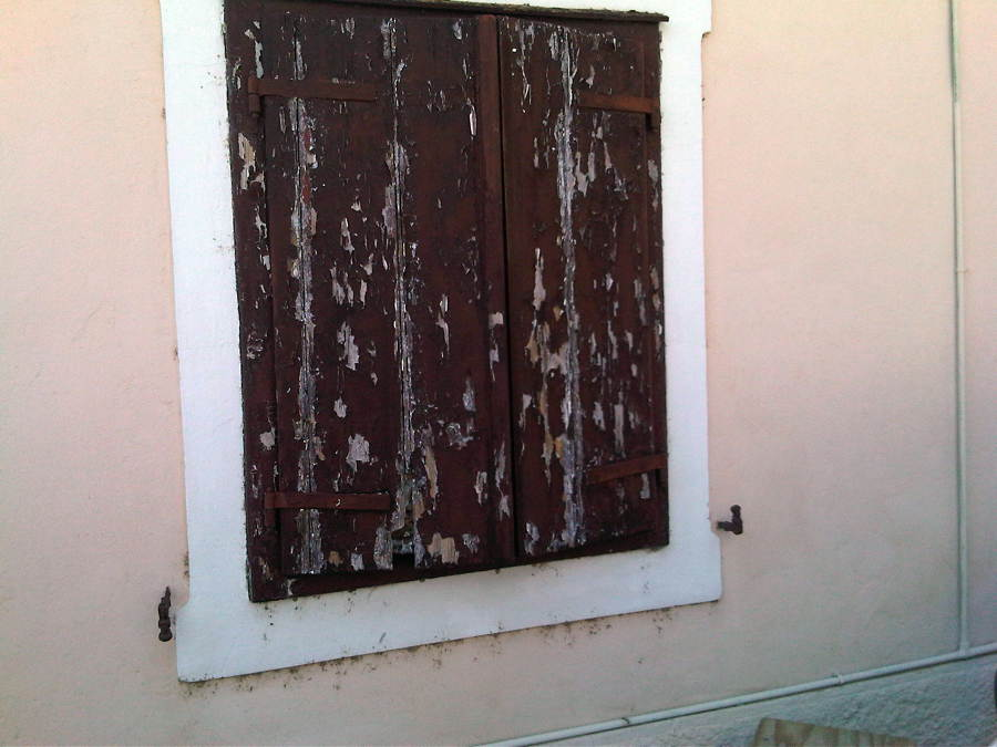 Vecchio scuro in legno - Gorizia