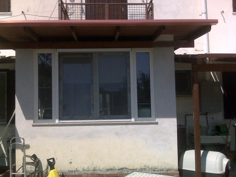 foto veranda in pvc gorizia de falegnameria talli snc 150598 habitissimo. Black Bedroom Furniture Sets. Home Design Ideas