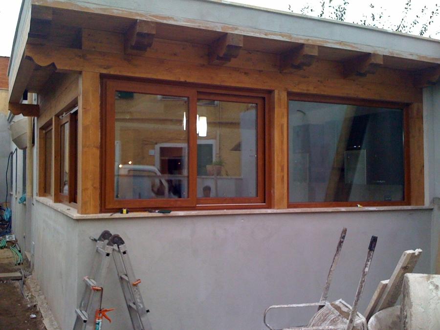 foto veranda in pvc de centro metal plastik srl 48473 habitissimo. Black Bedroom Furniture Sets. Home Design Ideas