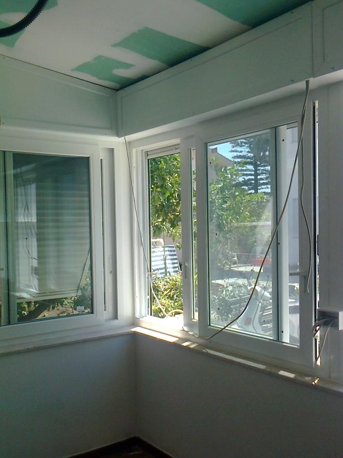 foto veranda scorrevole in pvc de rodolico pietro 118875 habitissimo. Black Bedroom Furniture Sets. Home Design Ideas