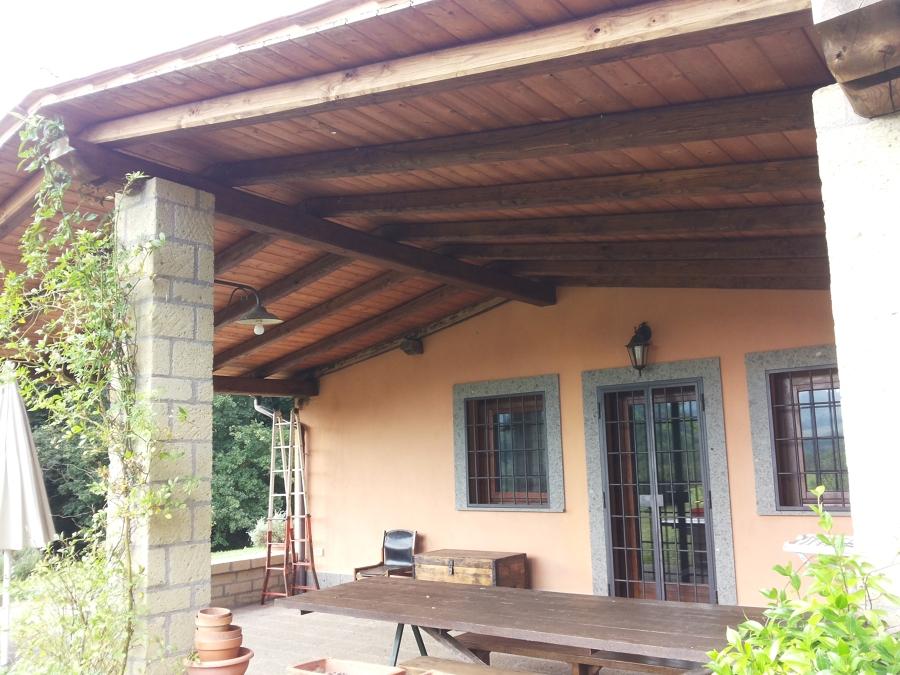 tetto e veranda