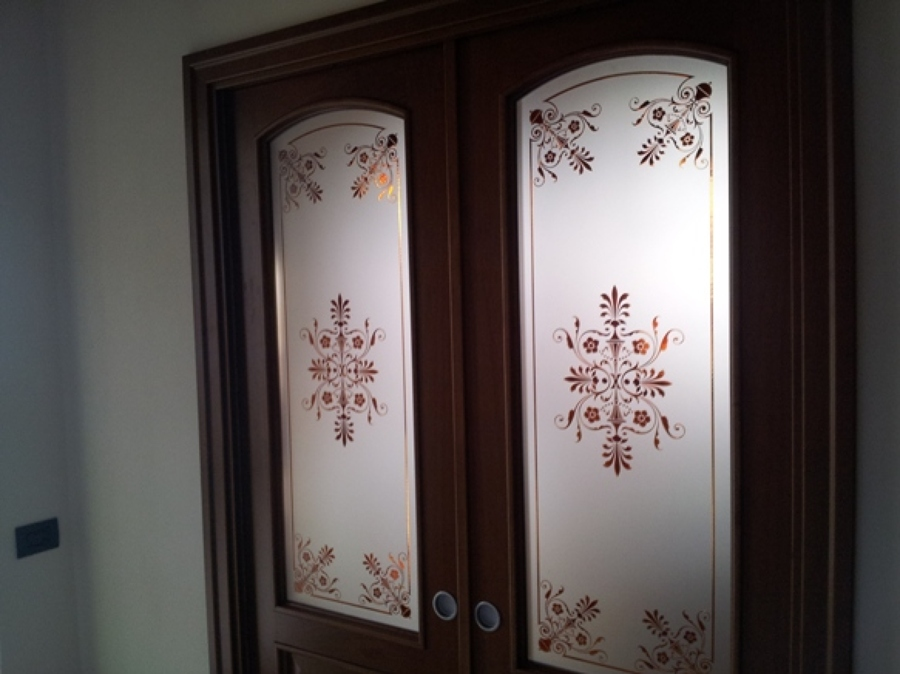 Foto vetri decorati per porte di vetrivart 168327 habitissimo - Vetri decorati per porte scorrevoli ...