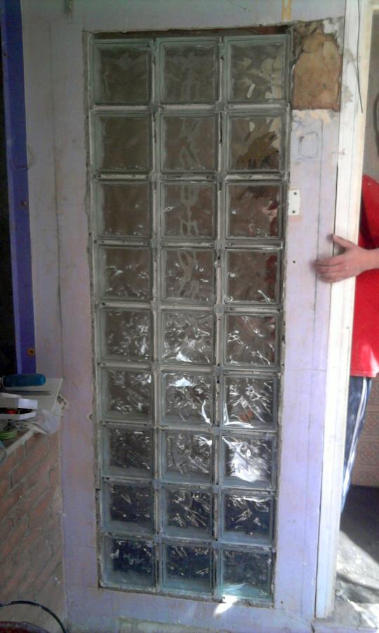 Foto vetrocemento di r r i edilizia 61566 habitissimo - Box doccia vetrocemento ...