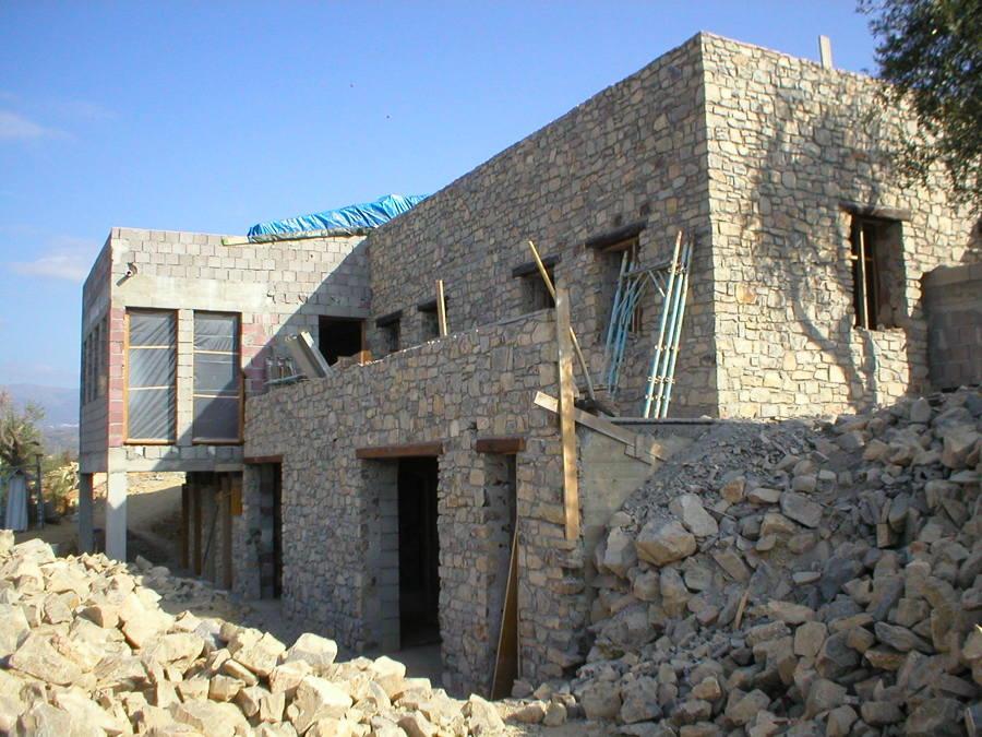 Foto villa in pietra di de andreis architetti associati for Foto ville in pietra
