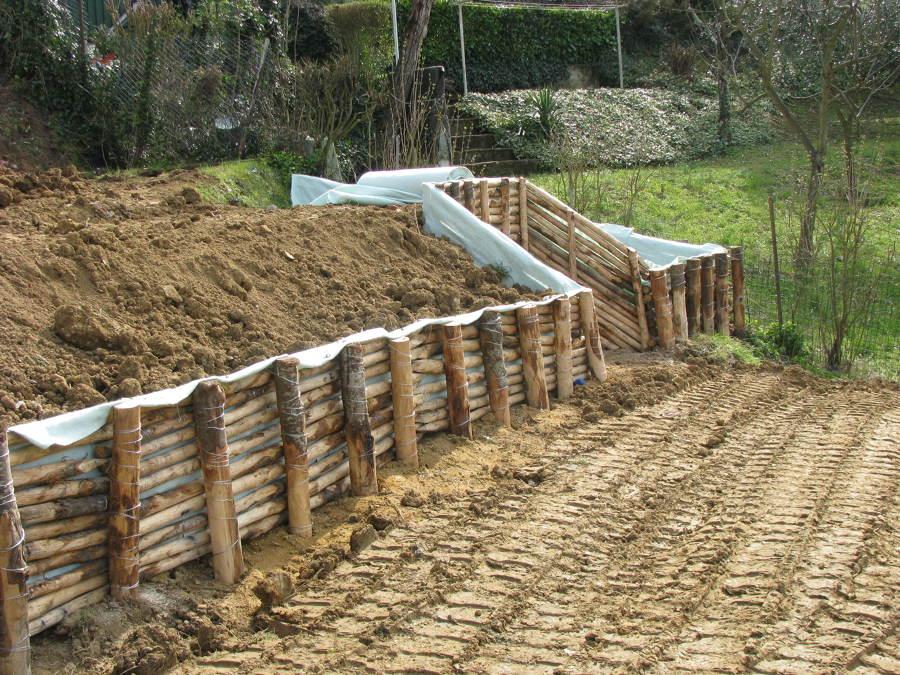 Foto: Viminata Per Terrazzamenti Giardini di Malugi Srl #213401 ...