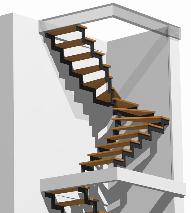 Foto scala in legno di di nardo costruzioni in legno - Immagini scale in legno ...