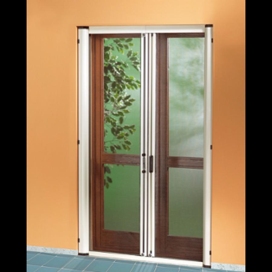 Foto zanzariere per portefinestre di porte infissi 61241 - Tipi di zanzariere per porte finestre ...