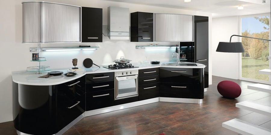 foto: zona giorno moderno cucine spar arreda da tornello ... - Arredamento Moderno Zona Living